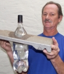 Lâmpada de garrafa PET
