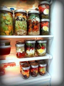 Recipientes de Conservação de Alimentos