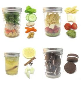 Recipientes para conserva de alimentos